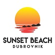 Sunset beach Dubrovnik
